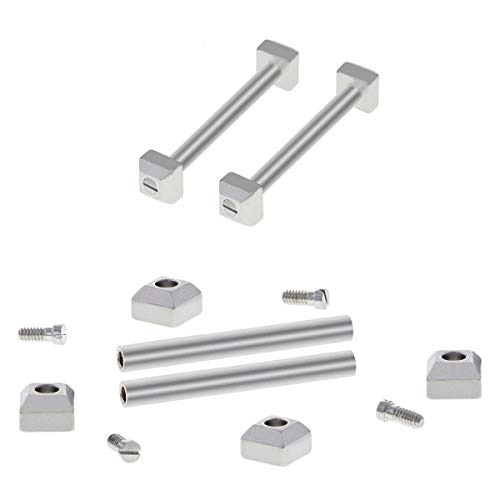 Screw Tube Pin Bar Compatible with Cartier Pasha Strap Bracelet Band Lug 16/17/18/20/21/22