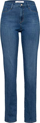BRAX Damen Style Carola Blue Planet Bootcut Jeans, Used Light Blue, W31/L32 (40)