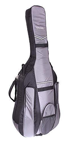 Tonareli Kontrabass Gig bag 7/8 Designer schwarz/grau BGB78BG - Autorisierter Händler