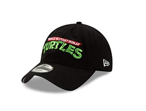 New Era Teenage Mutant Ninja Turtles Logo 9TWENTY, verstellbare Kappe, Schwarz