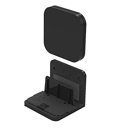 TANGIST Soporte Universal Dispositivo pequeño Módems montados en la Pared Sala de Estar Ángulo Ajustable Los Reproductores de Medios Fácil Instalar TV Estable TV Soporte de Caja (Color : Black)