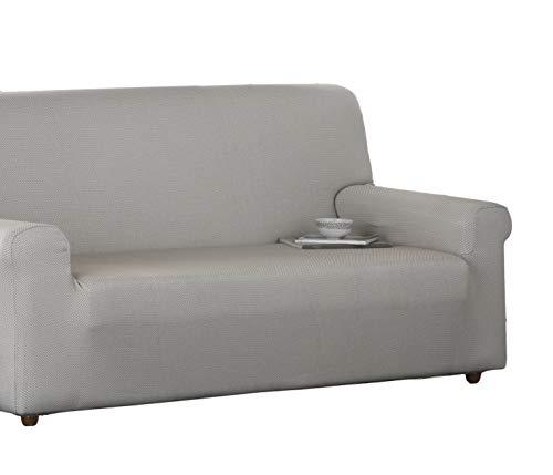 Estoralis Sari Sofabezug, elastisch, Stoff, Beige, 3-Sitzer