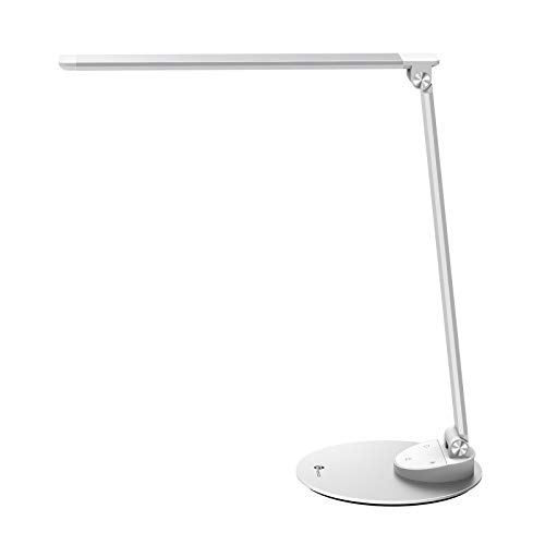 TaoTronics LED Desk Lamp with USB Charging Port, Eye- care...