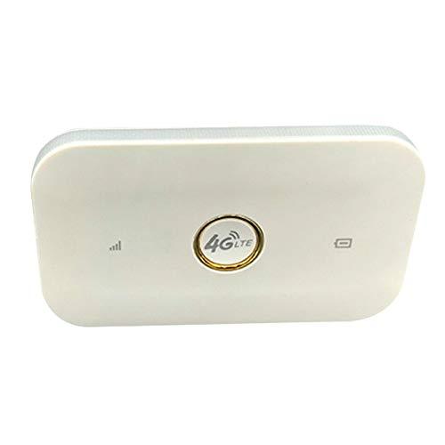 Casinlog Enrutador InaláMbrico 4G LTE MIFI 150Mbps WiFi MóVil 1500MAh WiFi Hotspot MóVil 3G 4G Router con Ranura para Tarjeta SIM
