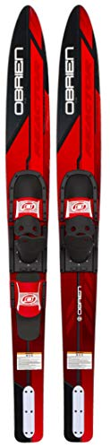 O'Brien Reactor Combo Water Skis, 67', Red