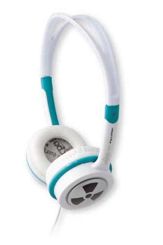 IFROGZ EarPollution Toxix-groen 3,5 mm stekker stereo koptelefoon sterke bas aanpasbaar zacht oorschelpkussen