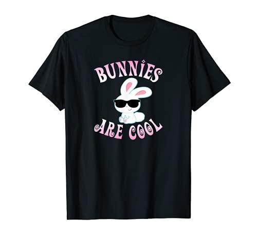 Bunny Are Cool Bunny Lover Kleinkind Mädchen Kaninchen Besitzer Geschenk T-Shirt