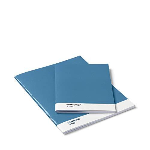 Pantone Blanko-Hefte, Booklet 2er-Set, Blue 2150