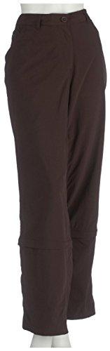 Craghoppers Pantalon Convertible de nosi Life Trousers Femme Cocoa Taille 44