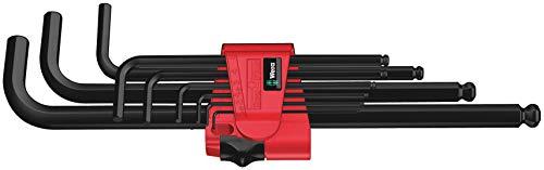 Wera 950 PKL/9 BM N Juego de llaves acodadas métricas, BlackLaser