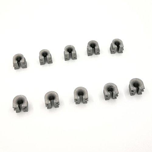 10 piezas con funda de ajuste STIHL 25-2 252 30 - 2 302 40 - 2 402 40 - 4 404 cabezal de corte Autocut Recortadora OEM NO. 4002 713 8301