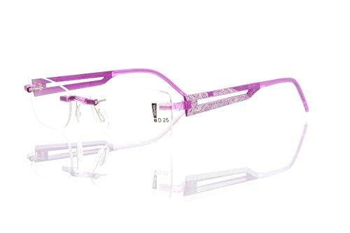 switch it Garnitur Combi 2361 Wechselbügel Montur in der Farbe Style violett, Druck dunkelgrau-grau