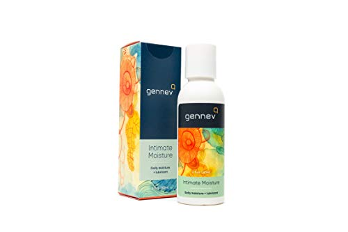 Intimate Lubricant, 2-in-1 Menopause Lubricant and Feminine Moisturizer by Gennev, All-Natural Personal Lube for Vaginal Dryness, No Parabens/Hormones/Fragrance, Travel-Sized (2 Ounces) New Packaging