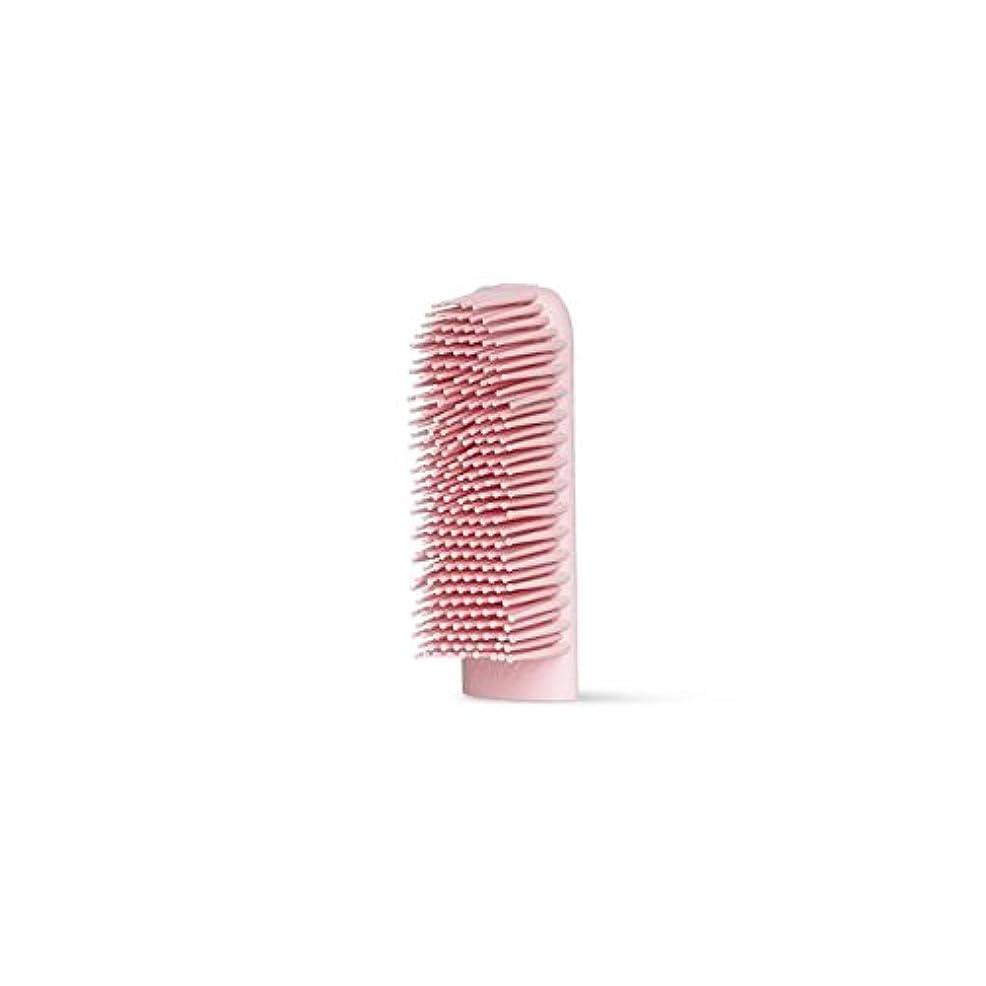 樫の木省略する法医学BOIE USA シリコン歯ブラシ (交換用ブラシヘッド ピンク)