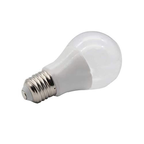 UV-LED E27 Birnen Desinfektion Lampe Antibakteriell Rate von 99% UV-C LED Sterilisator Licht mit Halter for das Auto Haushalt Kühlschrank WC Aufenthaltsbereich 6W 1220