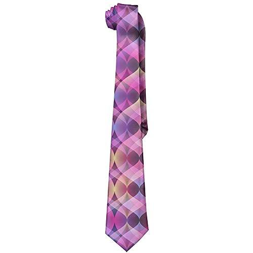 Regenboog Ultra Violet Mens Fashion zijden das Unique Gift das