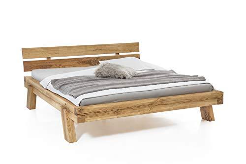 Holzwerk Holzwerk - Letto Riga, in legno di rovere selvatico, 200 x 200 cm