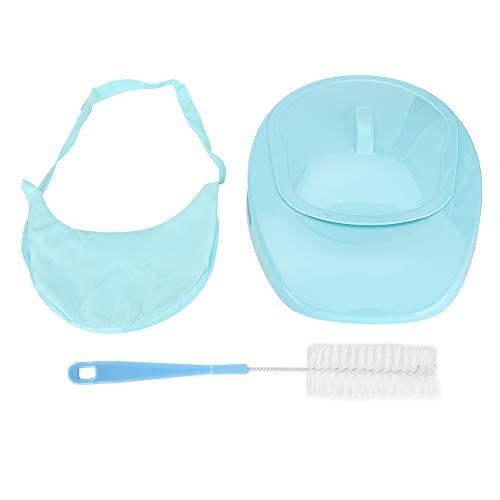 Padella in PP, tazza igienica in plastica, facile da pulire padella spessa e stabile per pazienti anziani costretti a letto