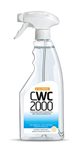 Cwc 2000 Geruchsvernichter Mit Desinfektion Sprühflasche 500 ml