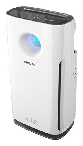 Philips 3000 series AC3256/30 76m² 63.8dB 60W Negro, Color blanco - Purificador de aire (367 m³/h, 76 m², 63,8 dB, 2 m,...