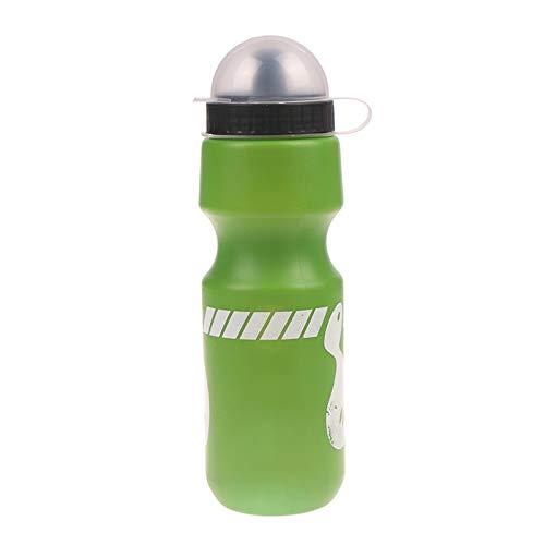 zhenxin Water Bottle 750ml Portable Mountain Bike Bicycle Water Bottle Essential Outdoor Sports Drink Jug Bike Water Bottle Leak-Proof Cup 8 Colors (Color : Green)