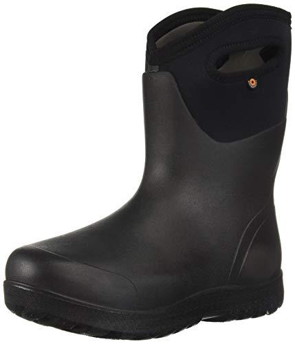 Bogs Women's NEO-Classic Snow Boot, mid Black, 7 Medium US