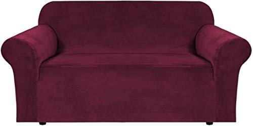 Moderner Sofa-Schonbezug für Zuhause, Samt-Plüschstoff, 1 Stück, Form-Fit-Stretch-Material, Stuhlbezug, stilvolle Möbelabdeckung, Schoner, maschinenwaschbar
