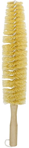 Large Spoke Wheel Brush with Plastic Coated Wire [85-799]