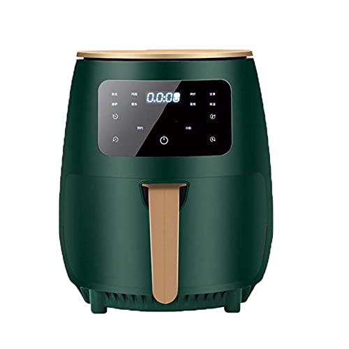 Wgwioo 4.5 L Air Fryers for Home Use, Lcd Digital Display Touch Screen, Tower Hot Air Fryer, Oil Free Hot Oven Cooker, Cooker for Low Fat Health Cooking