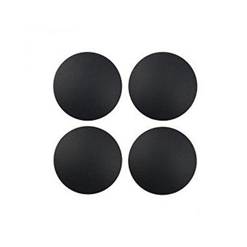 Alcyoneus - 4 piedini di ricambio in gomma per MacBook Pro A1278, A1286, A1297 nero Nero mini