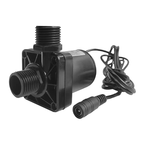 Bomba de agua sumergible de 12 V CC, mini bombas de agua eléctricas, altura de elevación de 5 m con caudal de 700 l h.