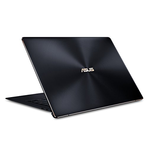 "ASUS ZenBook S Ultra-Thin and Light Laptop, 13.3"" UHD 4K Touch, 8th Gen Intel Core i7-8565U Processor, 16GB RAM, 512GB PCIe SSD, FP Sensor, Thunderbolt, Windows 10 Professional - UX391FA-XH74T"