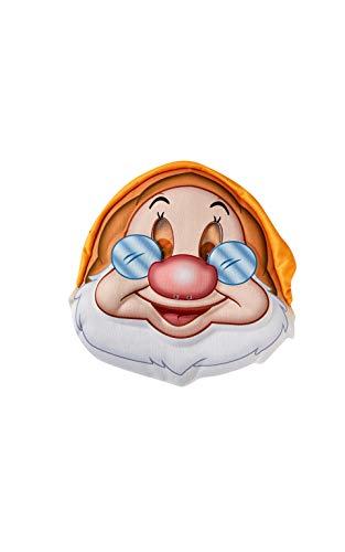 Rubie's 300664NS - Mscara oficial de Disney Doc Blancanieves, para adulto, con sombrero incorporado, talla nica, para hombre, multicolor