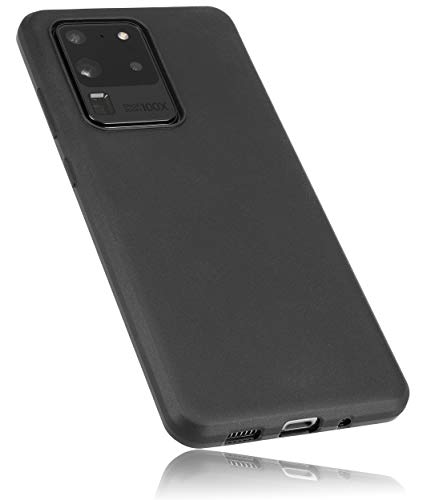 mumbi Hülle kompatibel mit Samsung Galaxy S20 Handy Hülle Handyhülle, schwarz