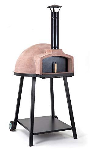 Four à Bois en matière réfractaire Fargau modèle Pietra 60 ou 75 cm de diamètre Sole réfractaire (60cm diamètre)