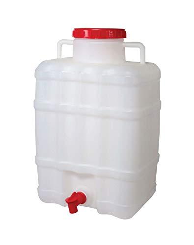 4Big.fun Wasserspender 20 L mit Wasserhahn Camping Kanister Gartenhaus Datscha Rukomojnik