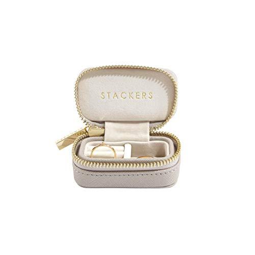 STACKERS LONDON トラベルジュエリーボックス S/スタッカーズ Travel Box (グレージュ)