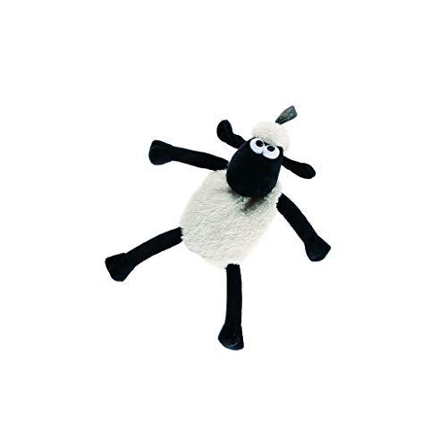 Fashy Shaun das Schaf Wärmekissen mit Rapssamenfüllung, 6338, schwarz-weiß, 37 cm