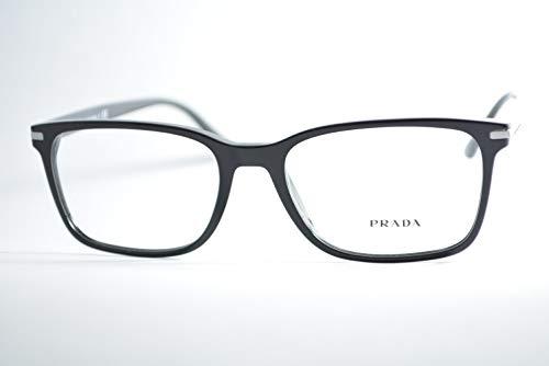 Prada - Gafas de vista unisex para adulto PR 14WV, 1AB1O1, 56