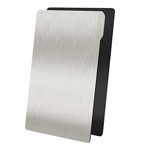 WZCXYX Stampante 3D Acciaio per Molle Fotopolimerizzabile LCD Fotopolimerizzabile Piattaforma in Resina Fotosensibile Fotone Pellicola in Acciaio Ad Assorbimento Magnetico(Size:202x128mm(Mono X))