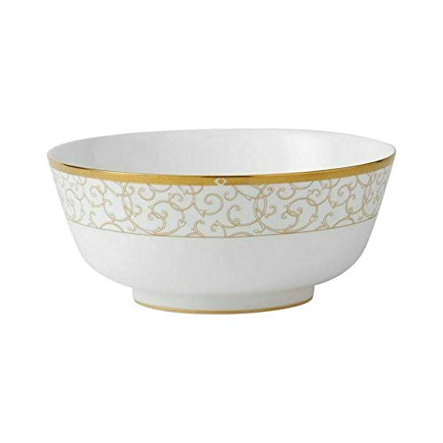 Wedgwood Celestial Gold INSALATIERA 25CM in Porcellana Salad Bowl