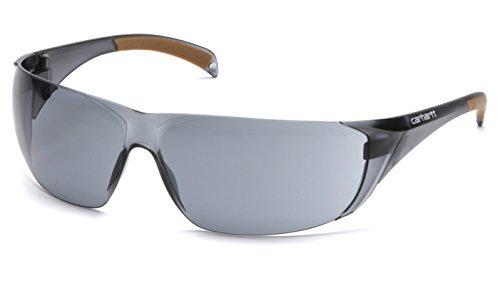 Carhartt CH120STCS Billings Safety Glasses, Gray Frame, Gray Anti-Fog Lens