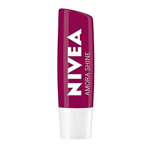 Protetor Labial Nivea Amora Shine 4, 8G, Nivea, Amora