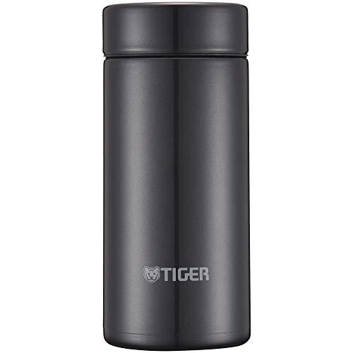 『タイガー魔法瓶 水筒 スクリュー マグボトル 6時間保温保冷 200ml 在宅 タンブラー利用可 パウダーブラック MMP-J020KP』の1枚目の画像