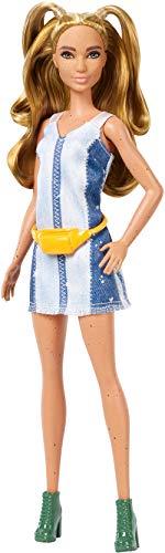 Barbie Fashionistas Lalka Splattered Denim