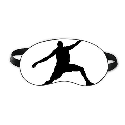 Capa de sombra Slam Dunk Sports Basketball Jumping Sleep Eye Shield Soft Night