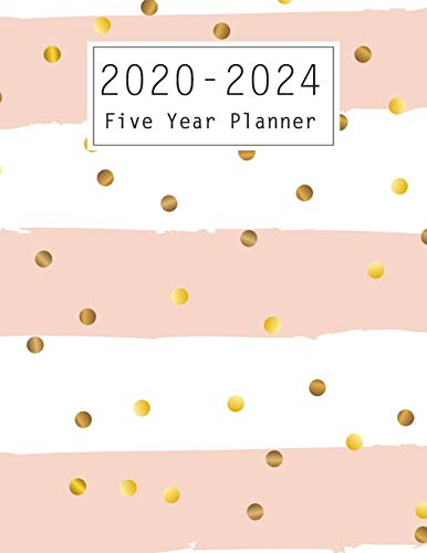 Five Year Planner: 60 Months Calendar, Monthly Schedule Organizer, 5 Year Appointment Calendar for The Next Five Years , Business Personal Planners ... Logbook Agenda Planner Cute Gift for Women