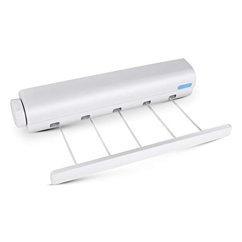 4-Line 5-Line Retractable Clothesline Wall Mounted Laundry Hanger Retractable Clothes Hanger Laundry Washing Line Dryer Magic Clothes Line Drying Rack Towel Rack Clothes Hanging Dryer Bathroom