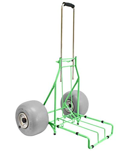 Folding Beach Cart by Wheeleez Rolling Caddy Large Heavy Duty 165 lbs. Capacity