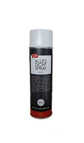 Allesdicht Spray, Dichtspray, wasserfester Flüssigkunststoff, flüssiger Kunststoff zur Abdichtung, 500 ml (Weiss)